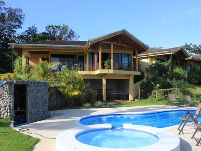 Photo for Luxury Home overlooks Arenal Volcano & Lake Arenal & Ceiba Tree