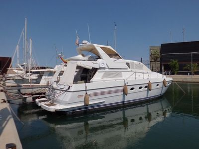 Photo for Luxury motor yacht in the port of Barcelona