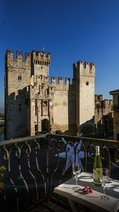 Photo for SMILE: Magnificent appartment in heart of Sirmione (splendid Castle View)