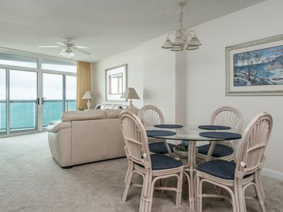 Photo for Crescent Keyes -  809 Beautiful Crescent Beach views from this 2 bedroom condo!