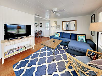 Photo for Lovely 2BR with Bay Views & Big Backyard - Less than 1 Mile to Rockport Beach