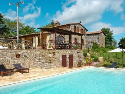 Photo for Vacation home Villa Le Lame (MTI150) in Montieri - 10 persons, 4 bedrooms