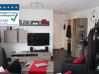 Photo for Fantastic apartment with fireplace, rain shower and sauna, wireless internet