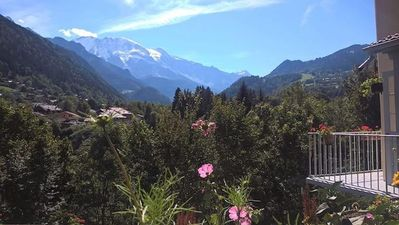 Photo for Mountain stay facing the Mont-Blanc chain