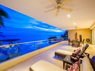 Photo for A fully loaded ocean side suite in Punta de Mita's most exclusive residence.