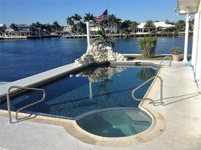Photo for Ultimate Intracoastal  Waterway Villa Super Vistas Booking New Years Now