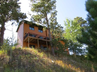 Enjoy The Views From This Lead Home Close To ATV/snowmobile trails and skiing
