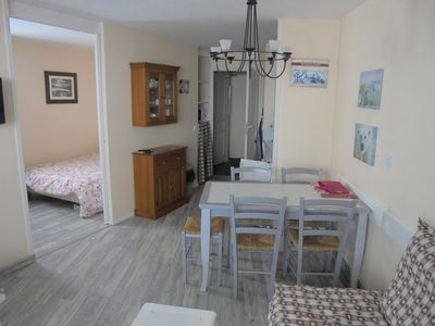 Photo for app center (spruce) 32 m² a renovated room wifi next Aquariaz grd south balcony