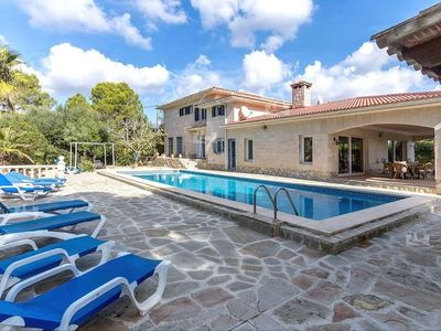 Photo for LUXURIOUS VILLA, SEA VIEW, 4 DOUBLE ROOMS, POOL HEATED, BOCCIA, TV, WIFI
