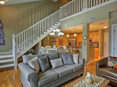 Photo for Grand Haven Condo w/Balcony- Walk to Pier & Dining