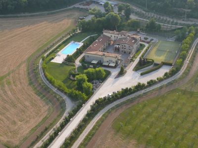 Photo for Among vineyards and olive groves in Cascina in 1600 in Lonato Romantic apartment