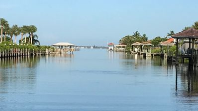 Photo for Florida beach town, beautiful waterfront condo, blocks from the beach.