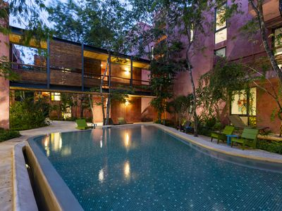 Photo for Full of nature 2BR condo with pool view by Happy Address