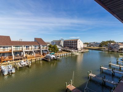 Photo for Charming bayside condo w/ balcony - walk to the beach, boardwalk & amusements!