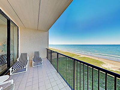 Photo for New Listing! Gulf-Front Penthouse #1107 w/ Balcony, Water Views & Pools