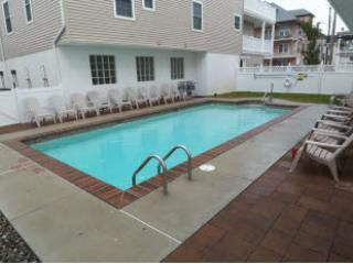 A heated pool is the most requested amenity for a Wildwood vacation rental.