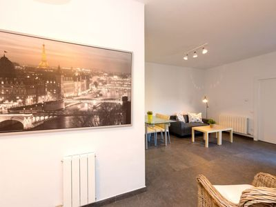 Photo for Apartment 731 m from the center of Barcelona with Lift, Internet, Washing machine, Air conditioning (88981)