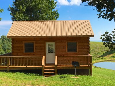 Photo for 1BR Cabin Vacation Rental in Purlear, North Carolina