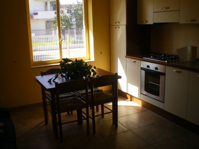 Photo for Ground floor apartment 100 m from the sea