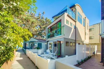 Marvelous Mission Beach Vacation Rental Home 3 Bedroom Luxury Overlooking Mission Bay Mission Beach Interior Design Ideas Helimdqseriescom