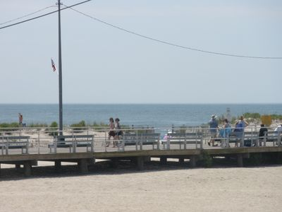 Photo for A++++OCEAN VIEW boardwalk&Beach&family amusement,special rate June 29th