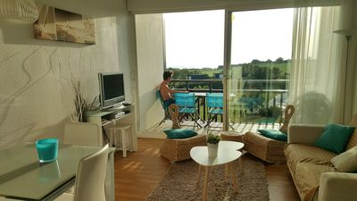 Photo for Charming T3 duplex sea view and golf