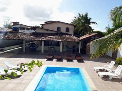 Photo for Beach house with pool, barbecue, hammocks and leisure area of 1350m2
