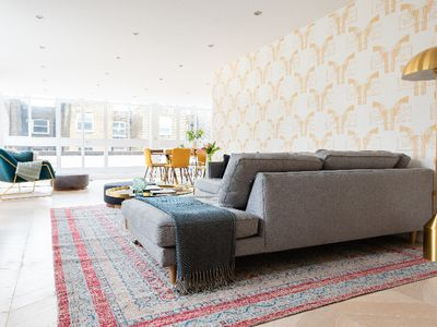 Photo for The Porchester Terrace - Modern & Bright 5BDR Penthouse with Terrace
