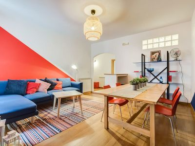 Photo for Extra large colorful flat in central location!