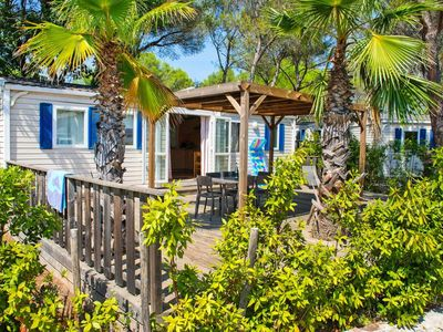 Photo for Mobile Homes Holiday Green Resort, Fréjus  in Var - 6 persons, 3 bedrooms