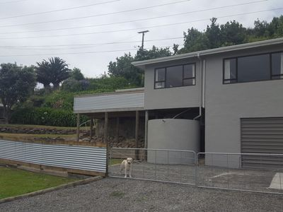 Photo for Hillside hideaway in the middle of Mahia