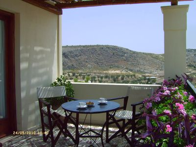Photo for Anopolis Village-Brand new beautifully restored stone villa with stunning views
