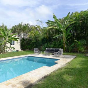 Photo for Beautiful waterfront home with pool and huge garden, close to the beach.