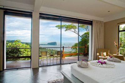View the coast of Manuel Antonio right from your balcony.