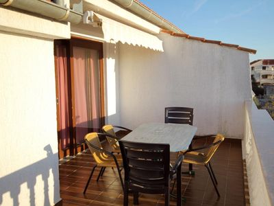 Photo for Two bedroom apartment with terrace and sea view Zadar - Diklo (Zadar)