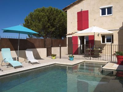 Photo for 50m2 apartment in the village opposite the Mont Ventoux