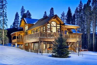 Enjoy this large custom home on your trip to Breckenridge.