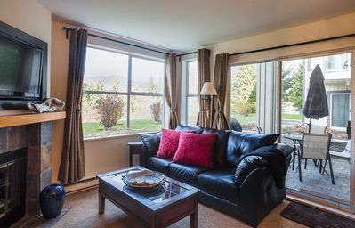 Photo for Cozy 2BDR Close to the Base of Blackcomb Mountain | Pool & Hot tub in Building