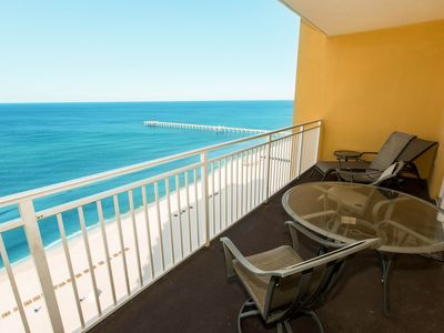 Photo for Waterfront condo w/ shared grills, pool, & fitness center - walk to the beach!