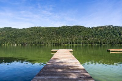 Private Dock on Fish Lake