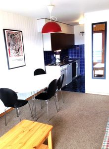 Photo for 2*, 1-bedroom-apartment for 4-6 people. Hall with 1x2 folding out bunk beds. Open-plan kitchen with