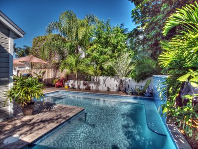 "Photo for ""LADY ADMIRAL"" ~ Sweet cottage & guest house with private pool off Duval"
