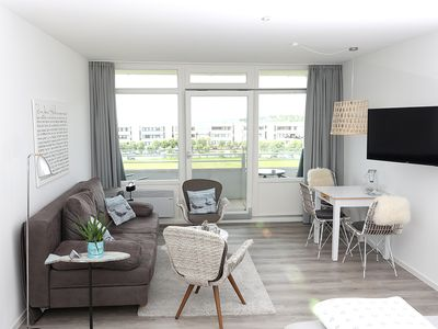 Photo for NEW 2017 STRANDBUDE FEHMARN Sweet, stylish one-room apartment on the south beach