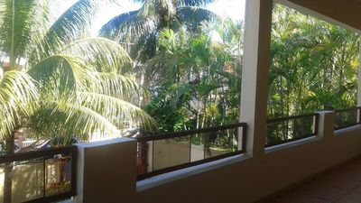 Photo for Cozy apartment 1 in Villa Rosier, 100 m from the beach in Flic en Flac