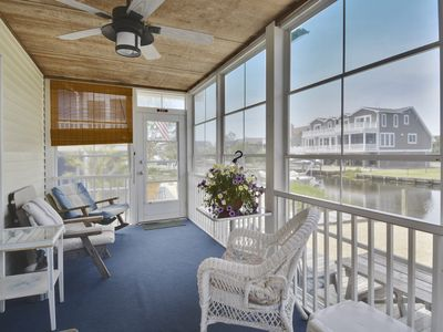 Photo for Charming Quiet Water Front Beach Cottage - Close to Everything! - Sleeps 12