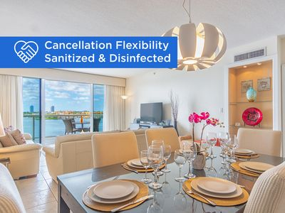 Photo for Cozy condo with amazing intracoastal views | WIFI