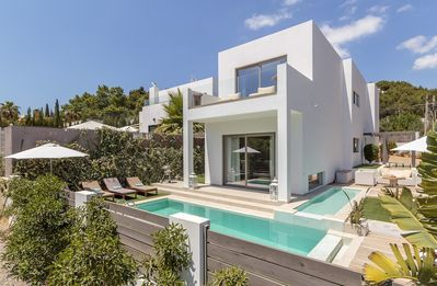 Photo for Ibiza villa rental with pool and walking distance to Cala Long Beach