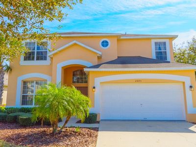 Photo for New 7BR/Pool/Hot Tub/WiFi/Game RM, 4 Miles to Disney