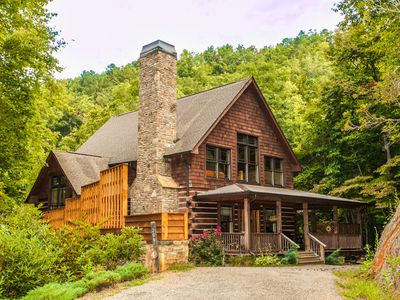 Photo for Wildflower Cabin 4 -  Luxury - Pool Table - Hot Tub - Hiking Trails