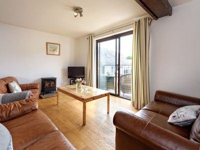 Photo for This contemporary three storey property is a perfect seaside escape for one large or two families sh